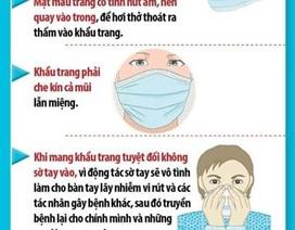 Bộ Y tế chỉ dẫn 8 cách làm đúng để ngăn ngừa virus Corona nhờ khẩu trang