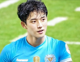 """Cầu thủ được mệnh danh """"đẹp trai nhất Hàn Quốc"""" gây """"sốt mạng"""" dịp đầu năm"""
