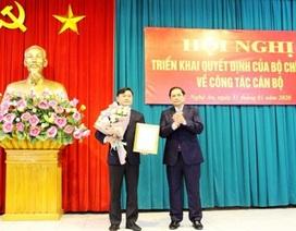 Bộ Chính trị chuẩn y tân Bí thư Tỉnh ủy Nghệ An