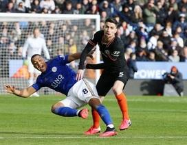 """Leicester 2-2 Chelsea: Cú đúp của Rudiger """"cứu"""" đội khách"""