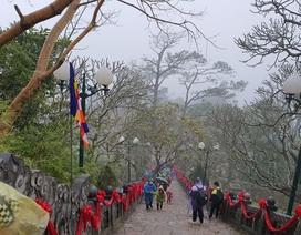 Nỗi lo Corona bủa vây, Yên Tử vắng khách trước ngày khai hội