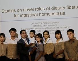 Nhà khoa học trẻ khát khao cống hiến cho quê hương