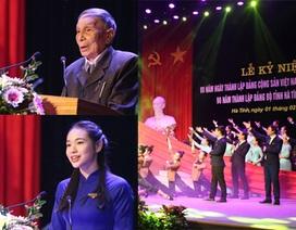 Kỷ niệm 90 năm thành lập Đảng: Người lớn nêu gương, tuổi trẻ quyết viết tiếp trang sử hào hùng