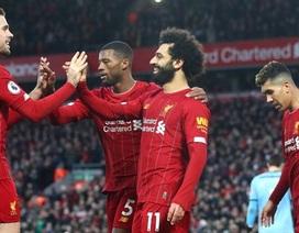 Đại thắng Southampton, Liverpool hơn đội nhì bảng Man City 22 điểm