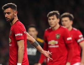 """""""Bom tấn"""" Fernandes ra mắt, Man Utd hòa nhạt trước Wolves"""