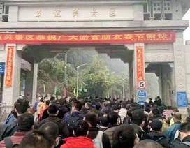 Biên phòng Lạng Sơn nói về thông tin nhiều người Trung Quốc xếp hàng ở cửa khẩu