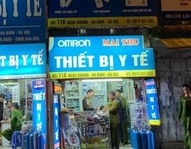 """Công an Hà Nội công khai 16 cửa hàng """"chặt chém"""" người mua khẩu trang"""