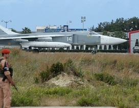 Máy bay không người lái tấn công căn cứ Nga ở Syria