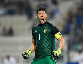Thủ môn số 1 Thái Lan từng lỡ cơ hội gia nhập Man Utd