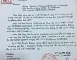 Bắc Ninh gửi công văn khẩn tới các cơ sở giáo dục cho học sinh nghỉ học