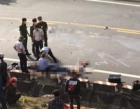 Va chạm với xe tải trên Đèo Cả, 2 thanh niên đi mô tô tử vong tại chỗ
