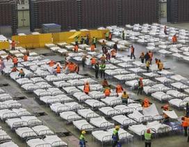 Trung Quốc biến nhà thi đấu, trung tâm hội nghị thành bệnh viện dã chiến