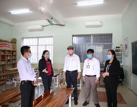 Quảng Trị:  Vệ sinh, sát khuẩn trường học phòng dịch Corona