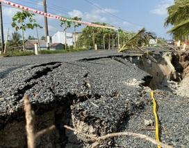 Đường trăm tỷ bị sụt lún: Sở GTVT nhận định nguyên nhân