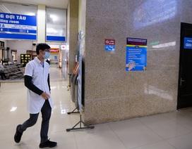 Bên trong phòng cách ly khách nghi nhiễm corona tại ga Hà Nội