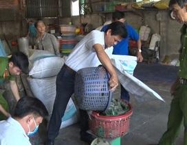 Bắt  một cơ sở sản xuất thực phẩm chay sử dụng chất cấm