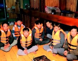 Bộ đội biên phòng cứu 7 ngư dân bị nạn trên biển