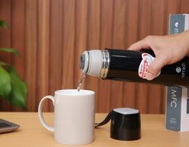 Bình giữ nhiệt Elmich – 'Trợ thủ' nhắc bạn uống đủ nước ấm phòng corona