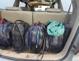 Cận cảnh lô ma túy 45kg bị chặn đứng khi đang tuồn vào Việt Nam