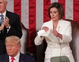 Bà Pelosi có phạm luật khi xé bản sao Thông điệp liên bang?