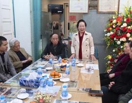 Chủ tịch Hội Khuyến học Việt Nam làm việc với báo Dân trí đầu Xuân mới