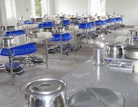 Nơi chuẩn bị tiếp nhận hơn 300 công dân Việt Nam trở về từ vùng dịch