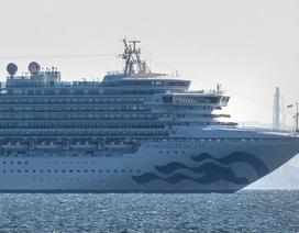 Thêm 10 người nhiễm virus corona trên du thuyền ở Nhật Bản