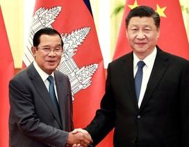 Thủ tướng Campuchia nói lý do không đeo khẩu trang khi tới Trung Quốc