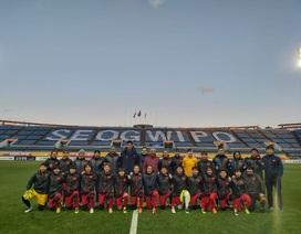 HLV Mai Đức Chung tôn trọng đối thủ Myanmar trước trận quyết đấu