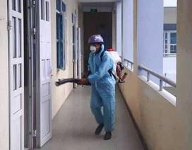 Thái Bình: Học sinh nghỉ học đến hết ngày 23/2, trường tiếp tục khử khuẩn
