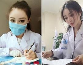 """Bác sĩ có gương mặt """"thiên thần"""" chữa khỏi nhiều ca nhiễm nCoV ở Trung Quốc"""