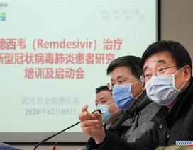Trung Quốc thử nghiệm thuốc kháng virus của Mỹ điều trị bệnh nhân viêm phổi