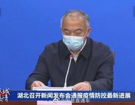 Quan chức Vũ Hán xin lỗi vì thiếu giường bệnh trầm trọng