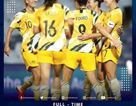 Hạ gục Đài Loan 7-0, tuyển nữ Australia vững ngôi đầu bảng