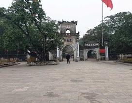 Đền Trần đóng cửa đền hết đêm 14 tháng Giêng