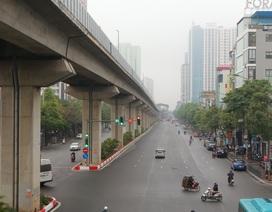 Đường phố Hà Nội thông thoáng lạ thường