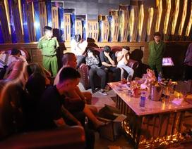 """Hàng chục thanh niên """"phê"""" ma túy trong quán karaoke vừa khai trương"""