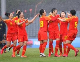 Đội tuyển nữ Thái Lan sớm bị loại khi thua Trung Quốc với tỷ số tennis