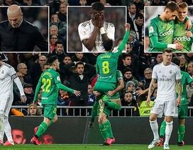"""Thua Sociedad trong """"cơn mưa bàn thắng"""", Real Madrid chia tay Cúp Nhà vua"""