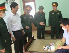 Thấy gì bên trong khu quân sự cách ly lao động từ Trung Quốc về Quảng Trị!