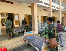 Những hình ảnh đầu tiên về bệnh viện dã chiến chống corona tại Sài Gòn