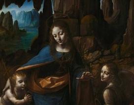 Phát hiện hình Chúa hài đồng ẩn giấu trong bức họa của Leonardo da Vinci