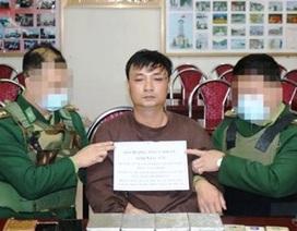Bộ đội biên phòng bắt 1 đối tượng, thu giữ 4 bánh heroin