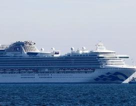 70 người nhiễm virus corona trên du thuyền tại Nhật Bản