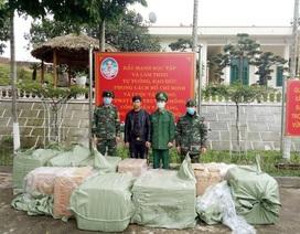 Liên tiếp bắt giữ hàng chục nghìn khẩu trang y tế bán sang Trung Quốc