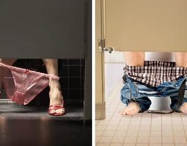 """Tại sao cửa WC công cộng luôn thiết kế khoảng hở to đến """"vô duyên""""?"""