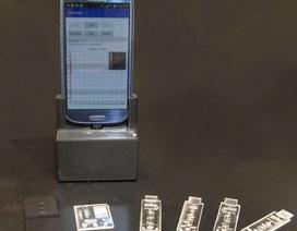 Thiết bị di động cắm vào điện thoại có thể chẩn đoán các bệnh truyền nhiễm