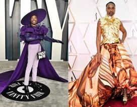 Nam diễn viên Billy Porter diện váy áo rực rỡ dự lễ trao giải Oscar