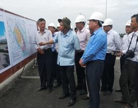 Bộ trưởng Nông nghiệp kiểm tra công tác ứng phó hạn mặn ở Vĩnh Long