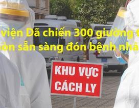 Bệnh viện Dã chiến 300 giường tại Sài Gòn sẵn sàng đón bệnh nhân